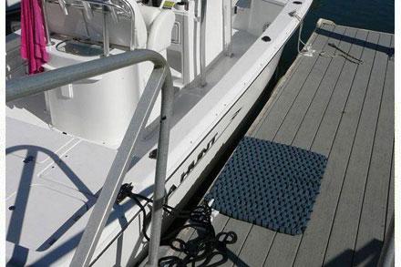 Rockport Rope Boat Mat