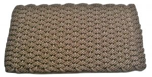 #269 Rockport Rope Mat 50/50 Brown/Tan