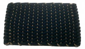 Rockport Rope Mat Navy Insert Tan