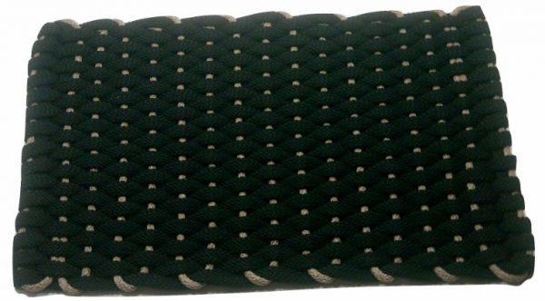 #377 Rockport Rope Mat Black Insert Tan