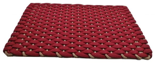 Rockport Rope Mat Red Insert Tan