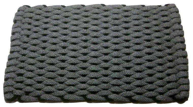 Rockport Rope Mat Gray Insert Black