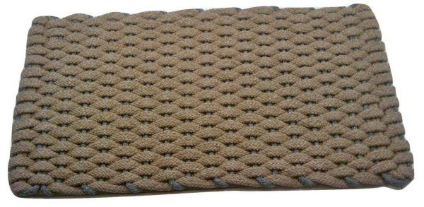 Rockport Rope Mat Tan Insert Gray
