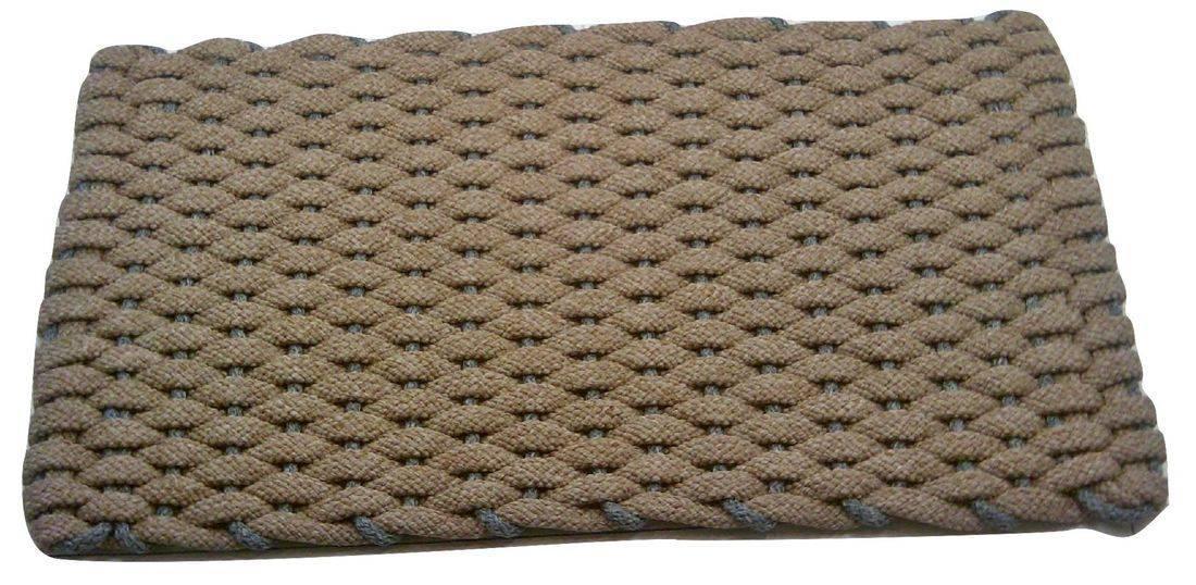 Rockport Rope Mat Tan Insert Gray