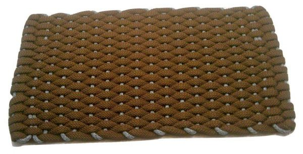 Rockport Rope Mat Brown Insert Gray