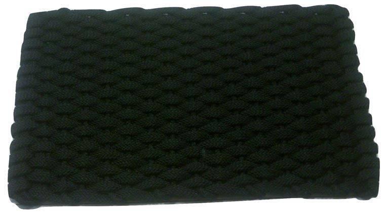 Rockport Rope Mat Black