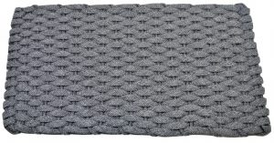 #206 Rockport rope mat Gray