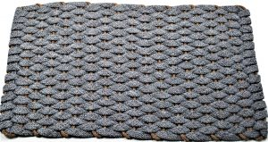 Rockport Rope Mat Gray with Tan insert