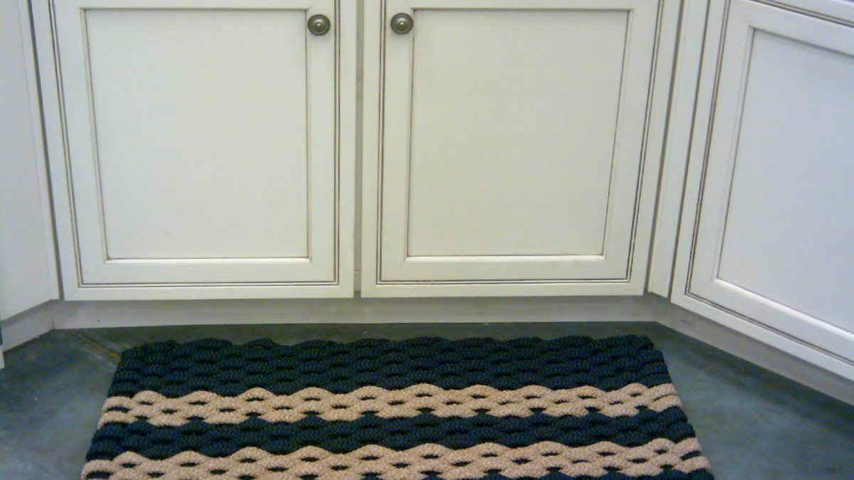 Rockport Rope Kitchen Comfort Mats - Rockport Rope Doormats LLC