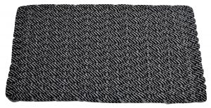 Rockport Rope Mat 50/50 Black/Gray