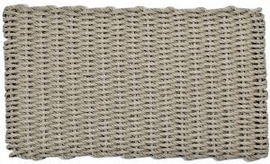 #803 Rockport Lobster Pot Rope Mat Tan with Tan insert