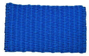 Lobster Pot Rope Doormat Blue