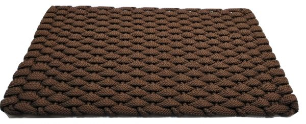 #202 Rockport Rope Door Mat Brown