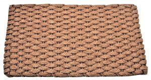 #224 Rockport Rope Door Mat Tan