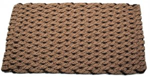 Rockport Rope Door Mat Tan 2 Brown specs Brown insert