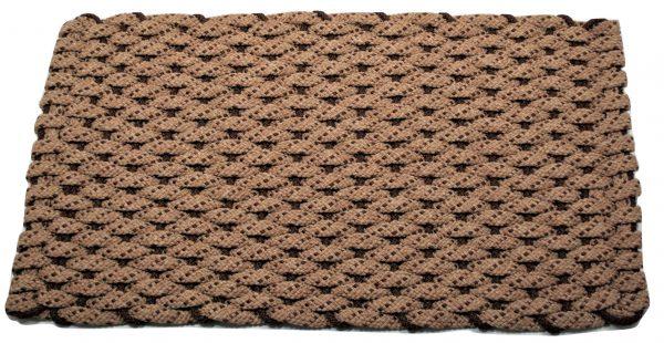 Rockport Rope Door Mat Tan 2 Brown specs Brown insert
