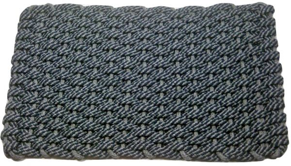 Rockport Rope Mat 50/50 Gray/Navy with Gray insert