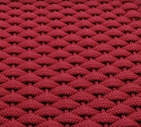 #351 Rockport Rope Mat Red
