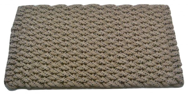 Rockport Rope Kitchen Comfort Mat Tan with Navy specs Tan insert