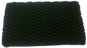 #374 Rockport Rope Doormat Black