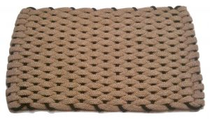 Rockport Ultra Plush Pet Mat Tan with Black insert