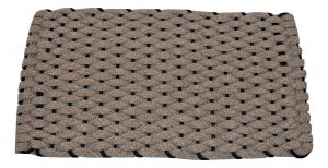Rockport Ultra Plush Pet Mat Tan with Navy insert