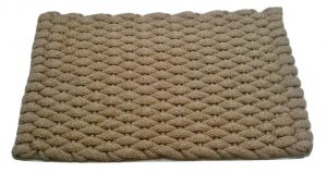 Rockport Ultra Plush Rope Mat Tan