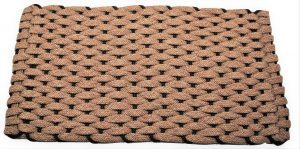 Rockport Ultra Plush Rope Mat Tan insert Brown