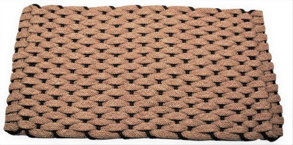 Rockport Ultra Plush Rope Mat Tan insert Brown