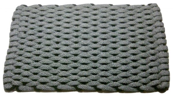 Rockport Ultra Plush Rope Mat Gray with Black insert